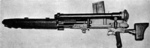 Type 97 light machine gun with telescopic sight, magazine, and jacket guard, as seen in Handbook on US War Department Japanese Military Forces (TM-E 30-480), 1 Oct 1944