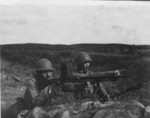 Japanese Army soldiers with ZB vz. 26 machine gun, date unknown